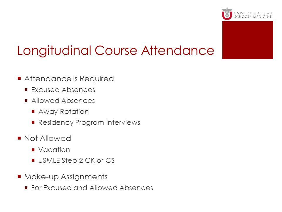 Longitudinal Course Attendance