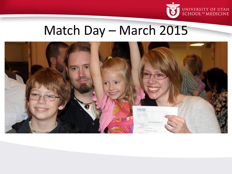 Match Day – March 2015