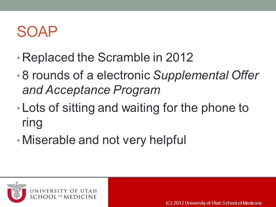 (C) 2012 University of Utah School of Medicine