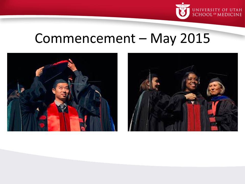 Commencement – May 2015