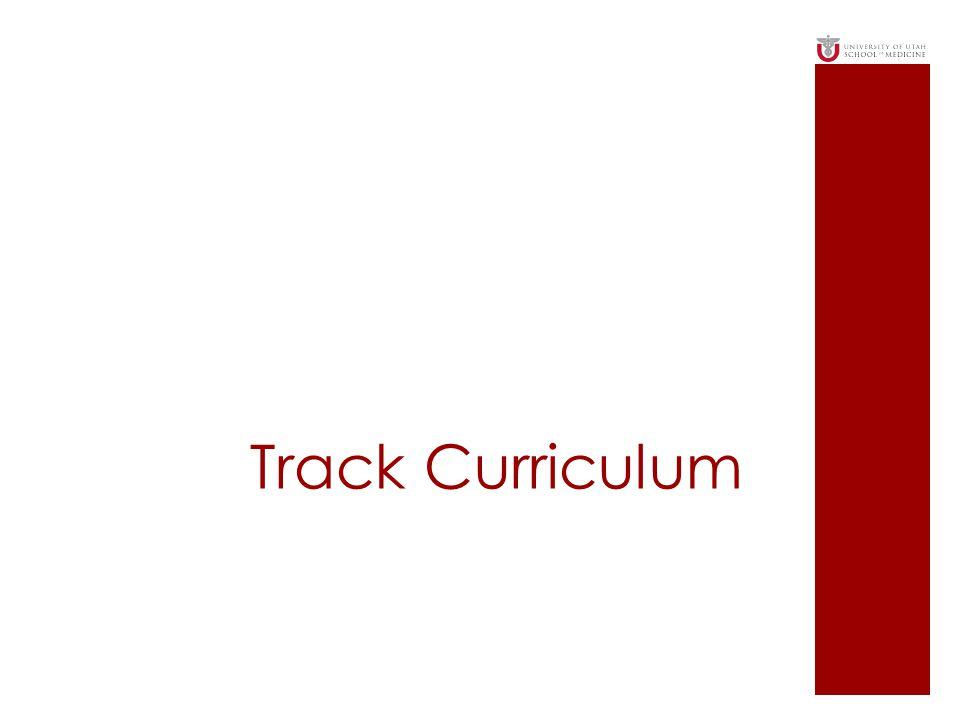 Track Curriculum