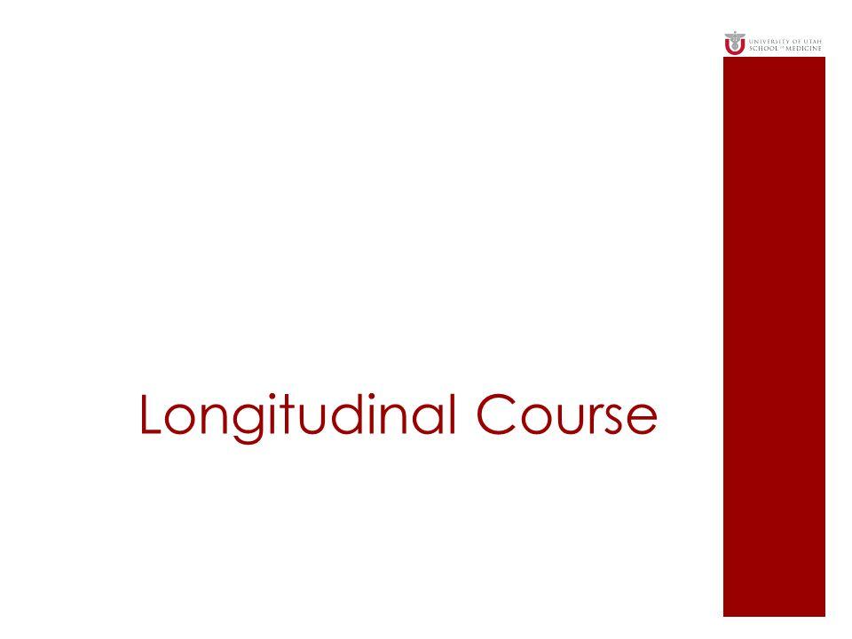 Longitudinal Course