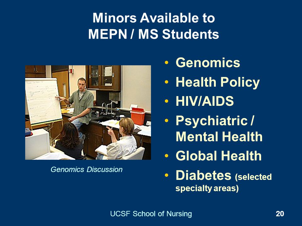 Minors Available to MEPN / MS Students