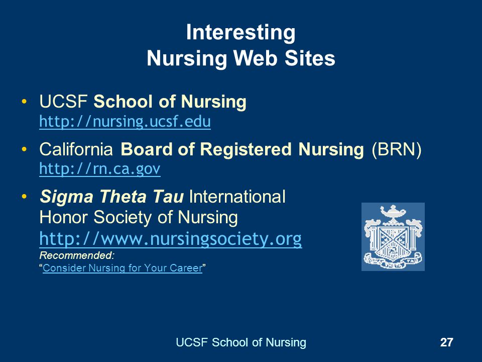 Interesting Nursing Web Sites