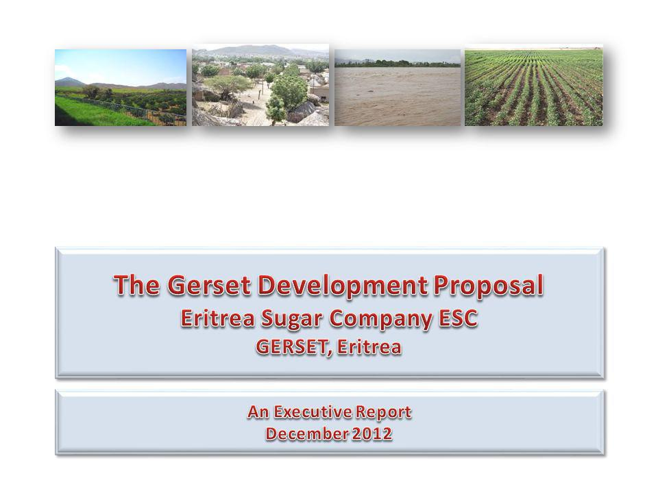The Gerset Development Proposal Eritrea Sugar Company ESC