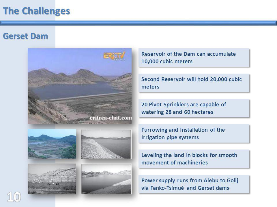 The Challenges Gerset Dam