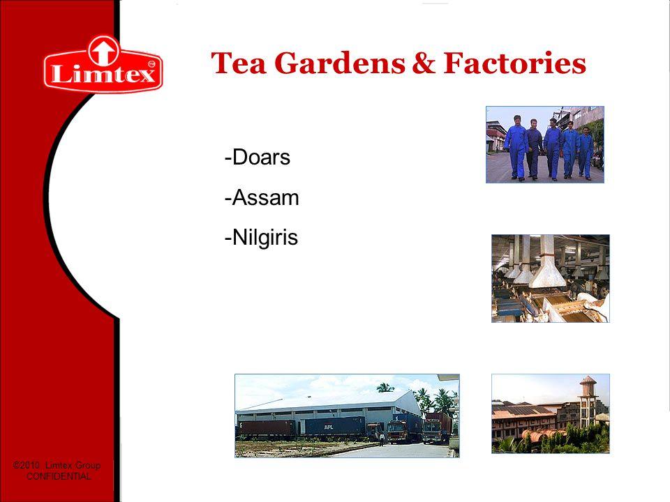 Tea Gardens & Factories
