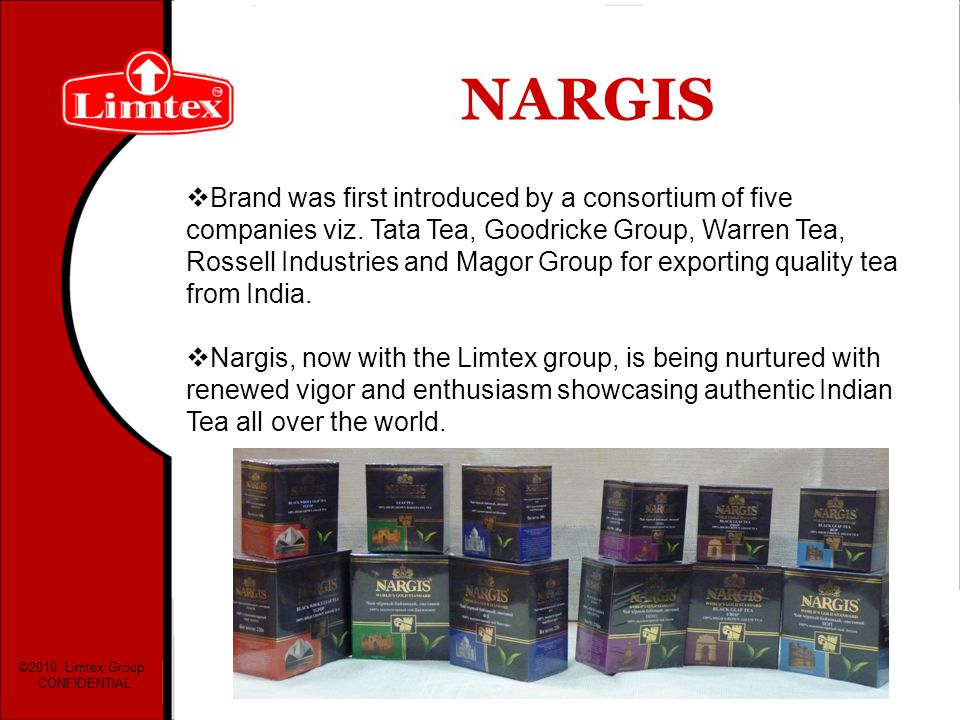 NARGIS Brand was first introduced by a consortium of five