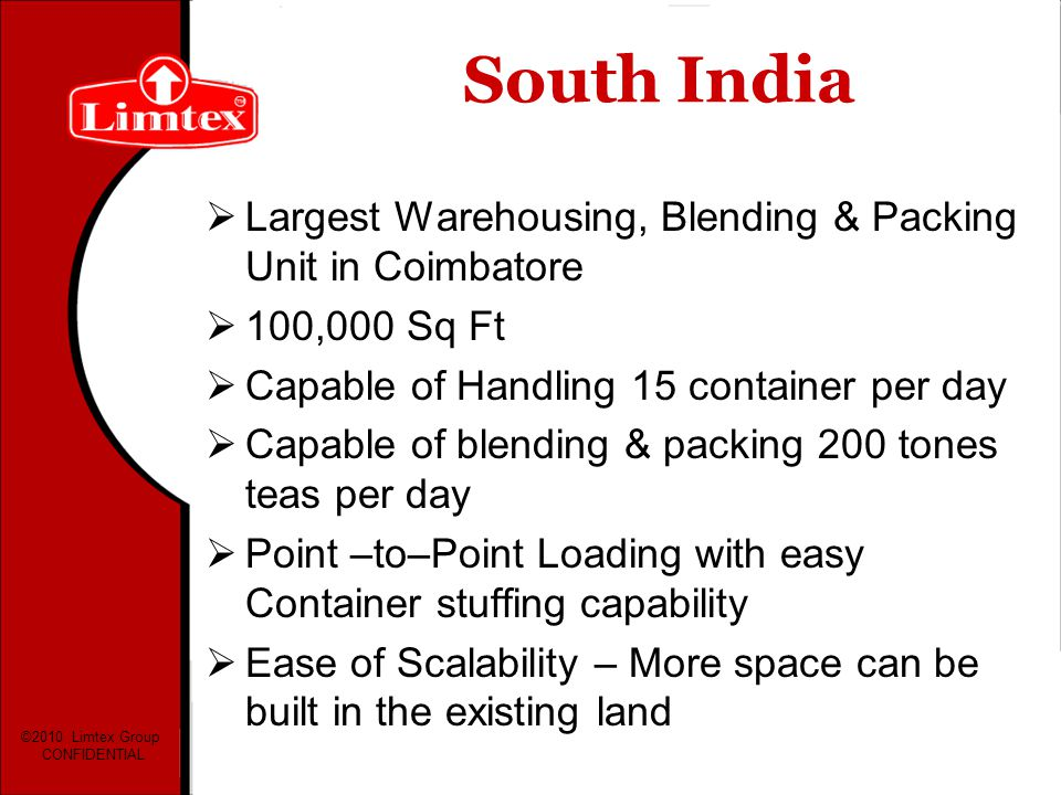 South India Largest Warehousing, Blending & Packing Unit in Coimbatore