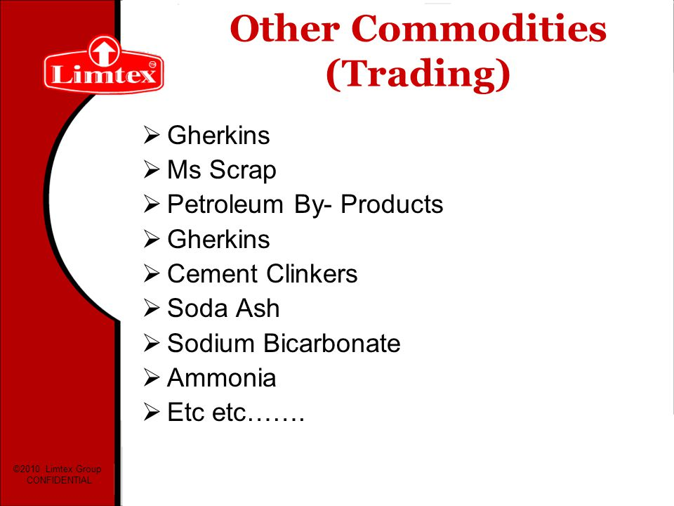 Other Commodities (Trading)