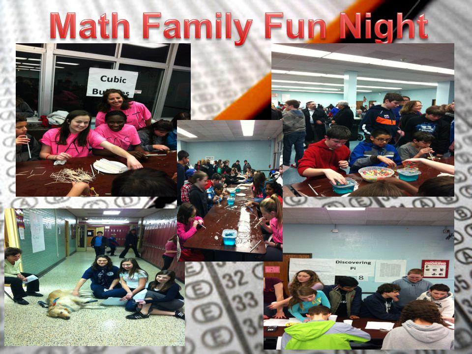 Math Family Fun Night