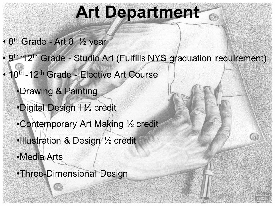 Art Department 8th Grade - Art 8 ½ year