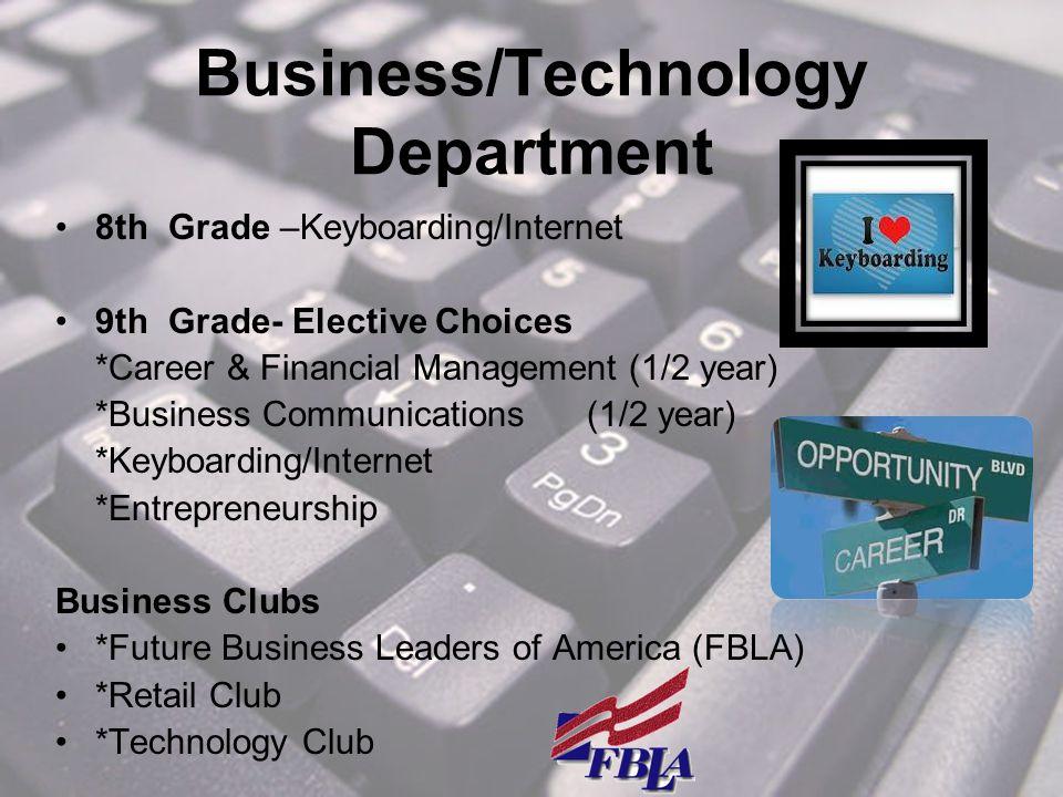Business/Technology Department