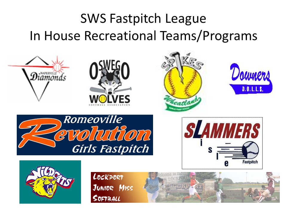 SWS Fastpitch League In House Recreational Teams/Programs