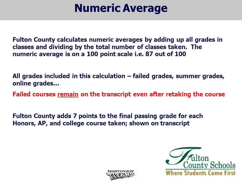Numeric Average
