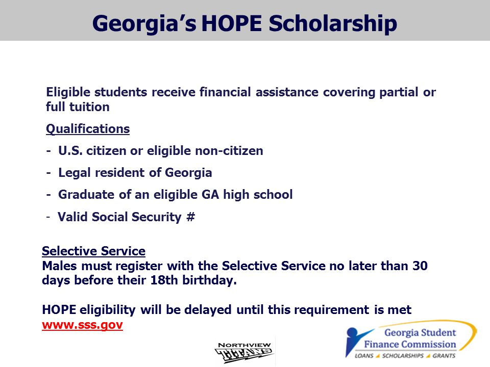 Georgia's HOPE Scholarship