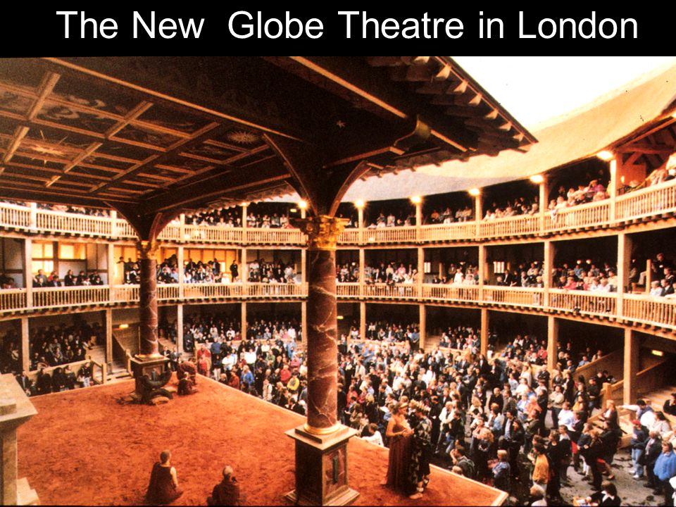 The New Globe Theatre in London