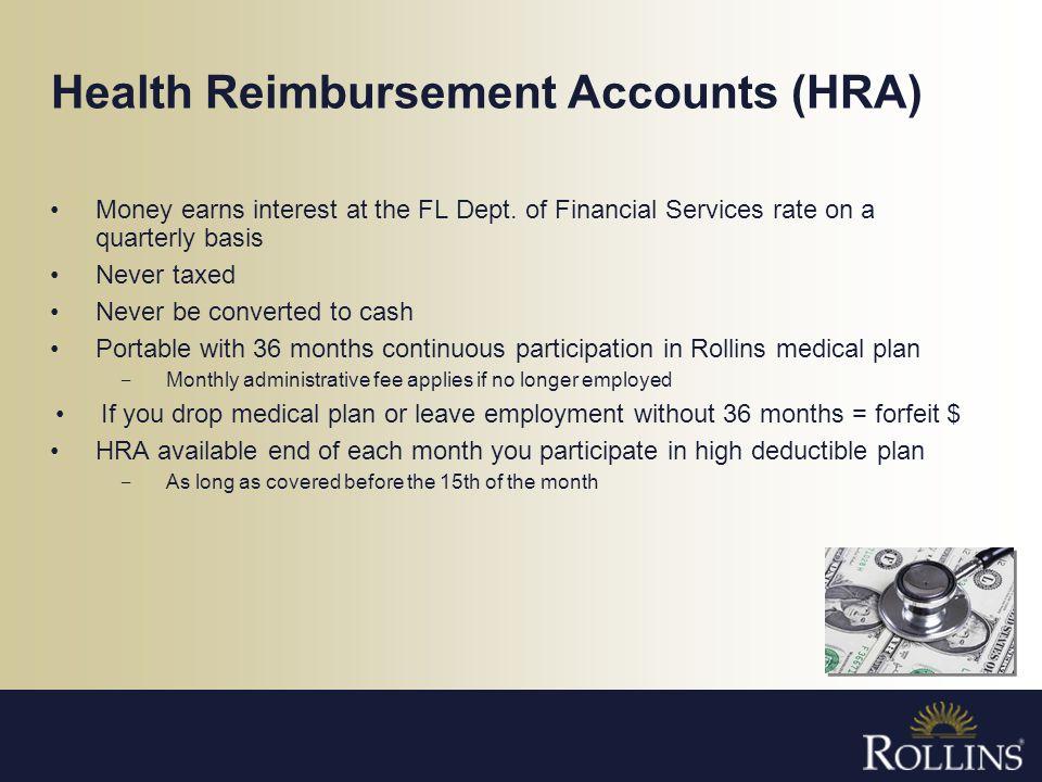 Health Reimbursement Accounts (HRA)
