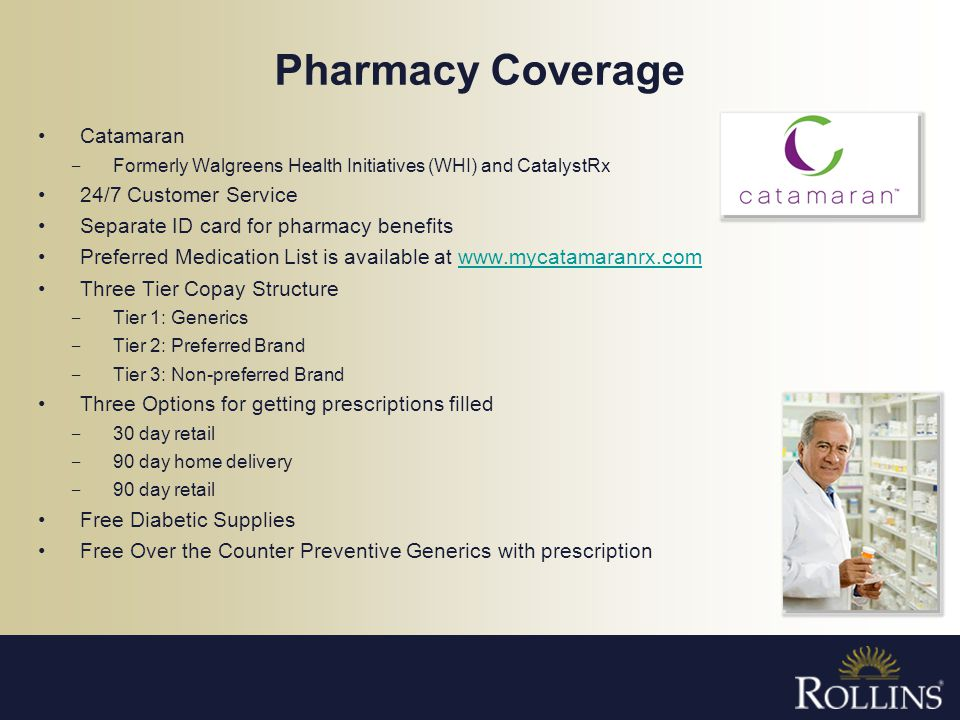 Pharmacy Coverage Catamaran 24/7 Customer Service