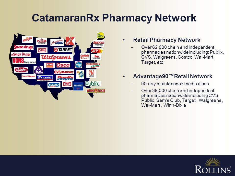 CatamaranRx Pharmacy Network