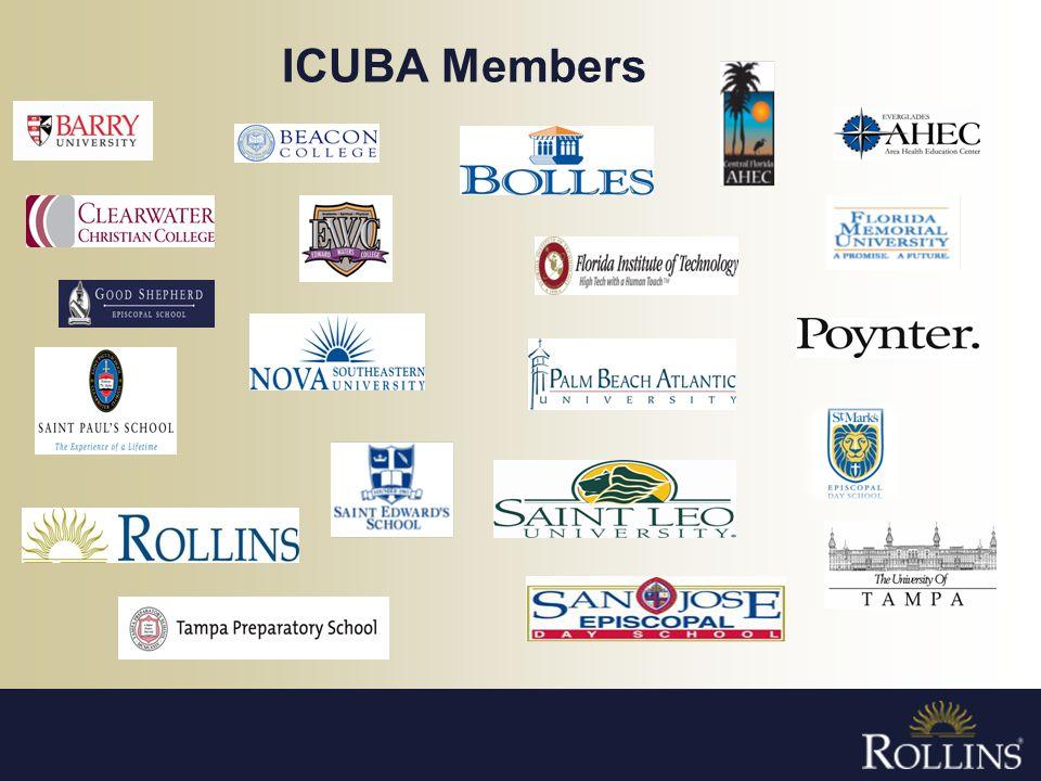 ICUBA Members - 8,100 employees (13,400 members)