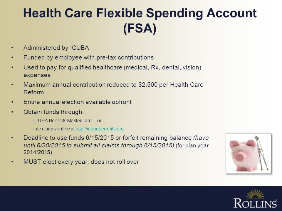 Health Care Flexible Spending Account (FSA)