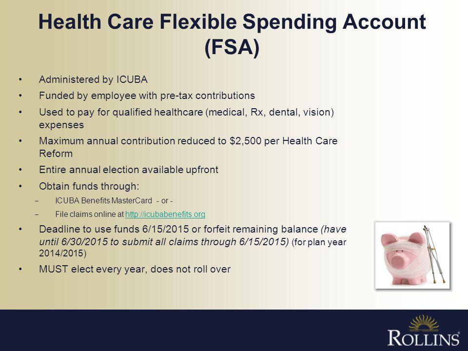 Health Care Flexible Spending Account (FSA)