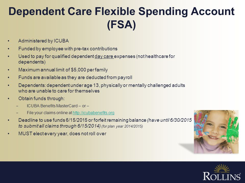 Dependent Care Flexible Spending Account (FSA)