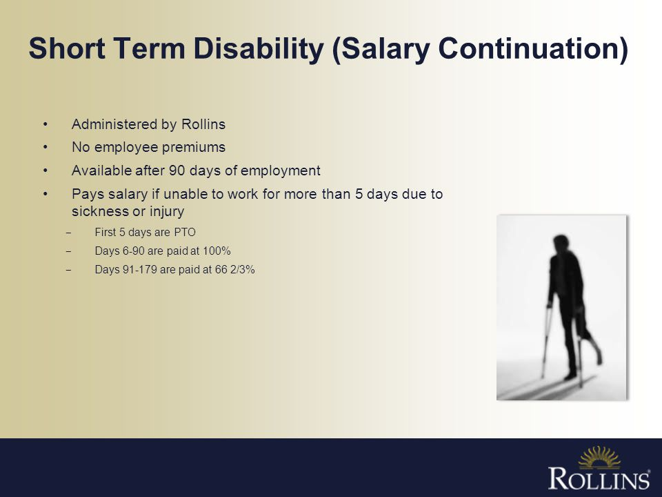 Short Term Disability (Salary Continuation)