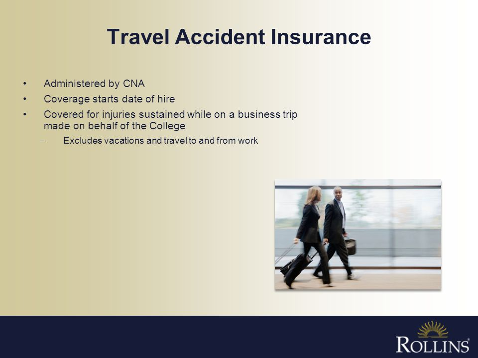 Travel Accident Insurance