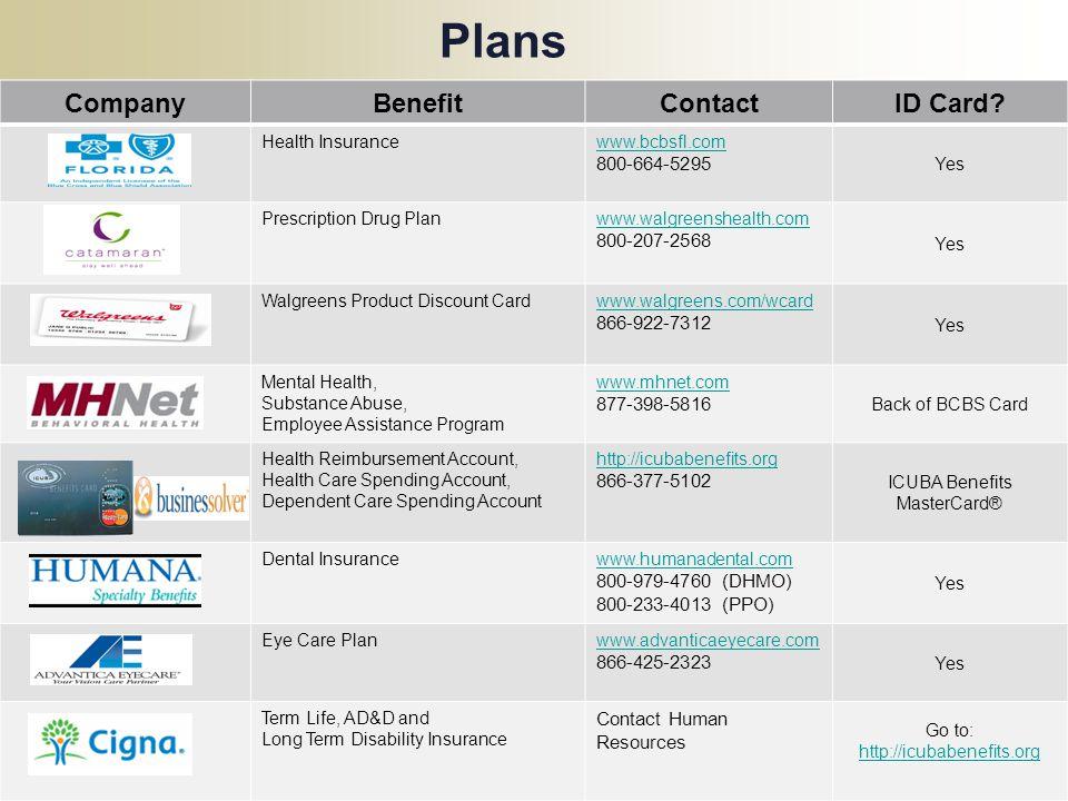 ICUBA Benefits MasterCard®