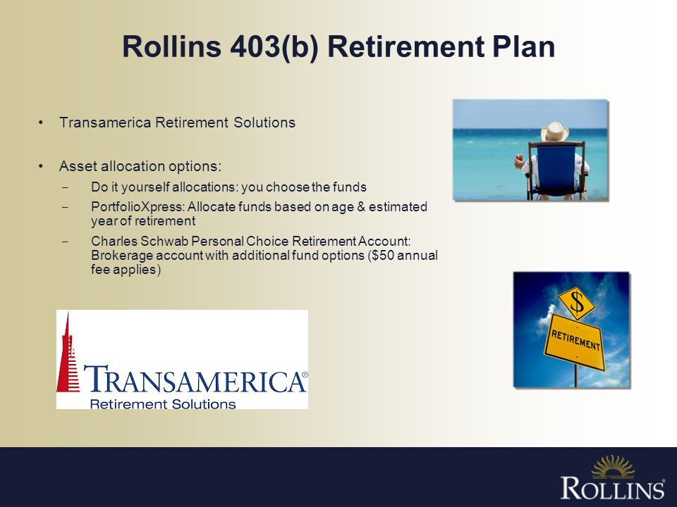 Rollins 403(b) Retirement Plan