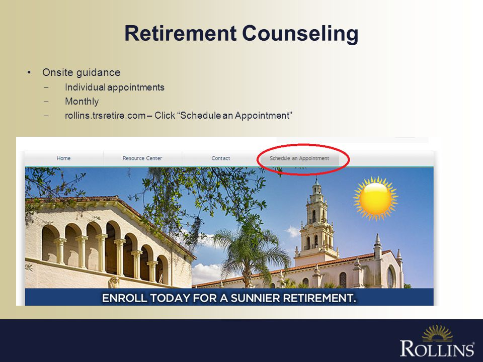 Retirement Counseling