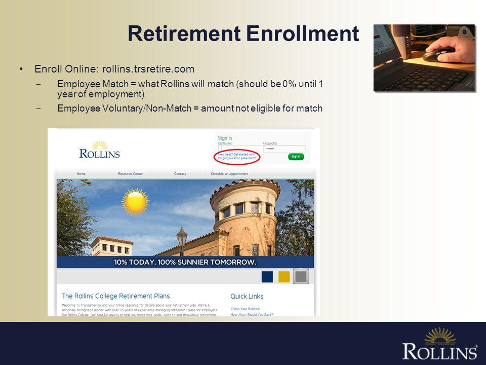 Retirement Enrollment