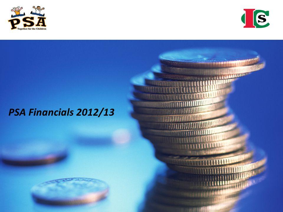 PSA Financials 2012/13