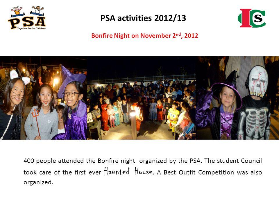Bonfire Night on November 2nd, 2012