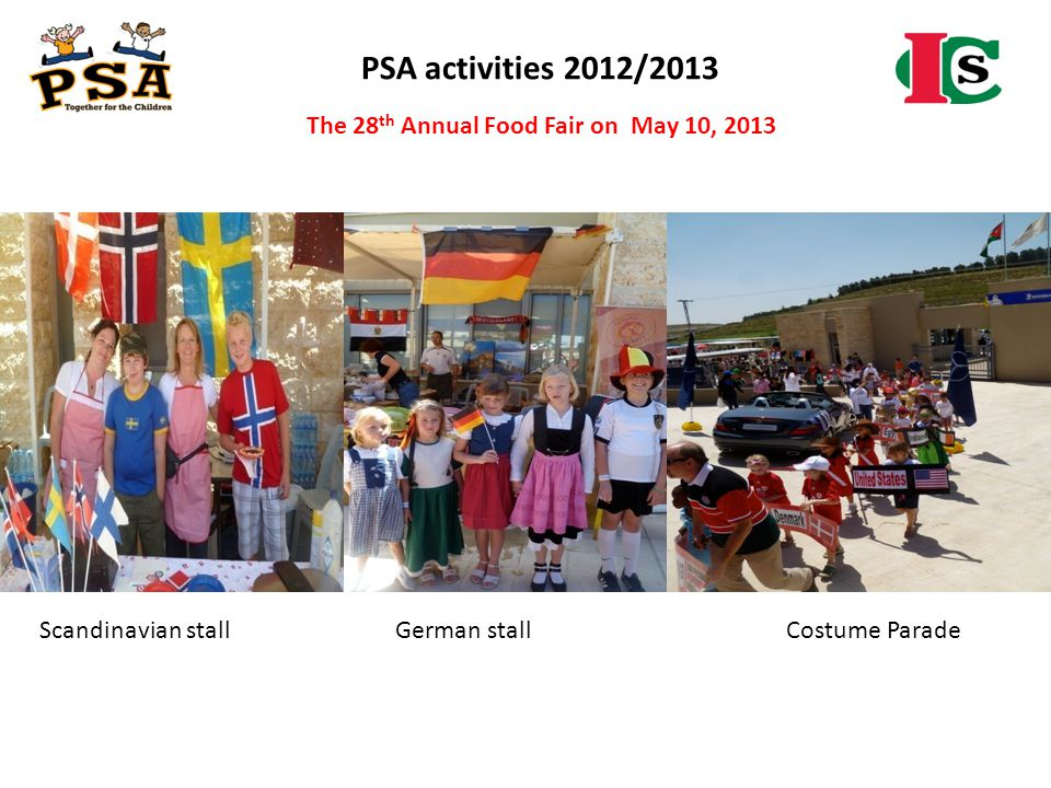 The 28th Annual Food Fair on May 10, 2013