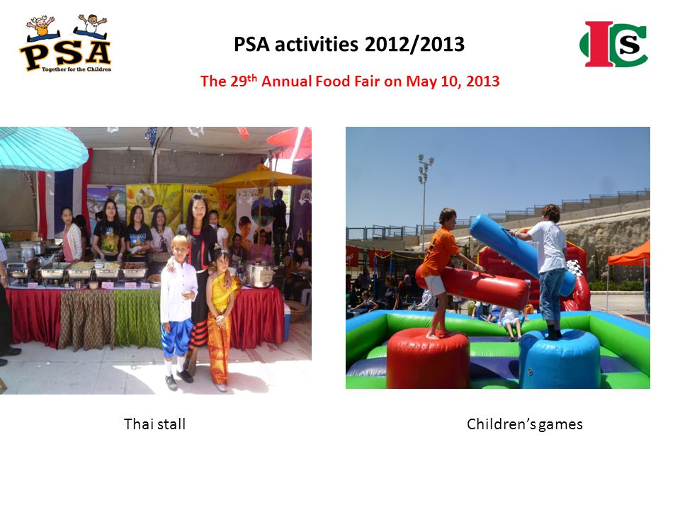The 29th Annual Food Fair on May 10, 2013