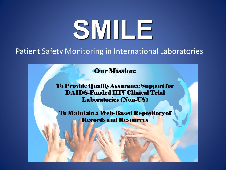 Patient Safety Monitoring in International Laboratories