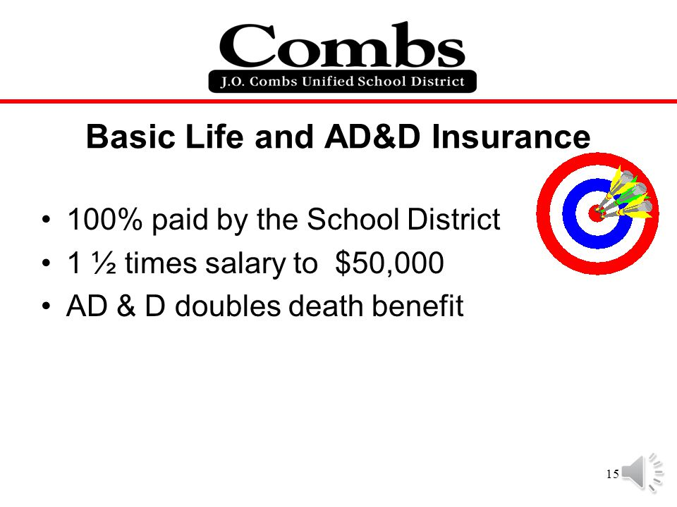 Basic Life and AD&D Insurance