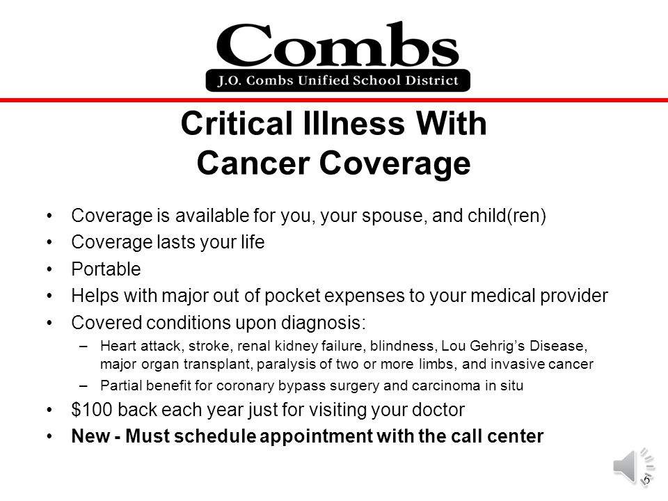 Critical Illness With Cancer Coverage