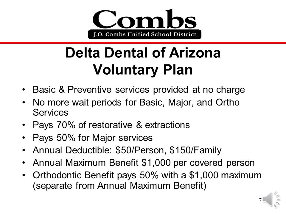 Delta Dental of Arizona Voluntary Plan