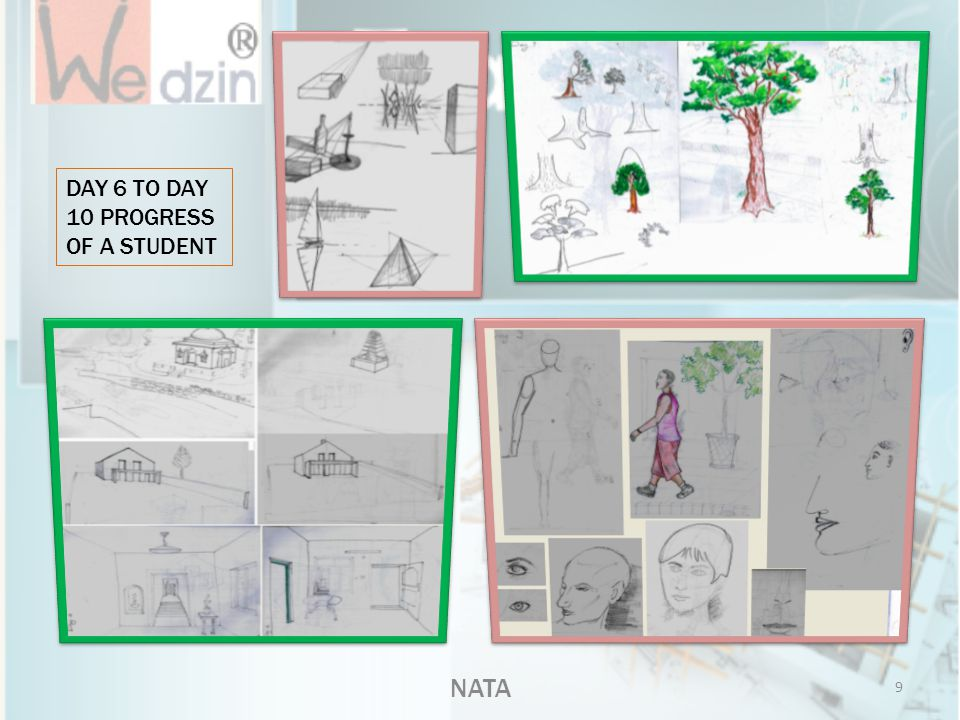 DAY 6 TO DAY 10 PROGRESS OF A STUDENT