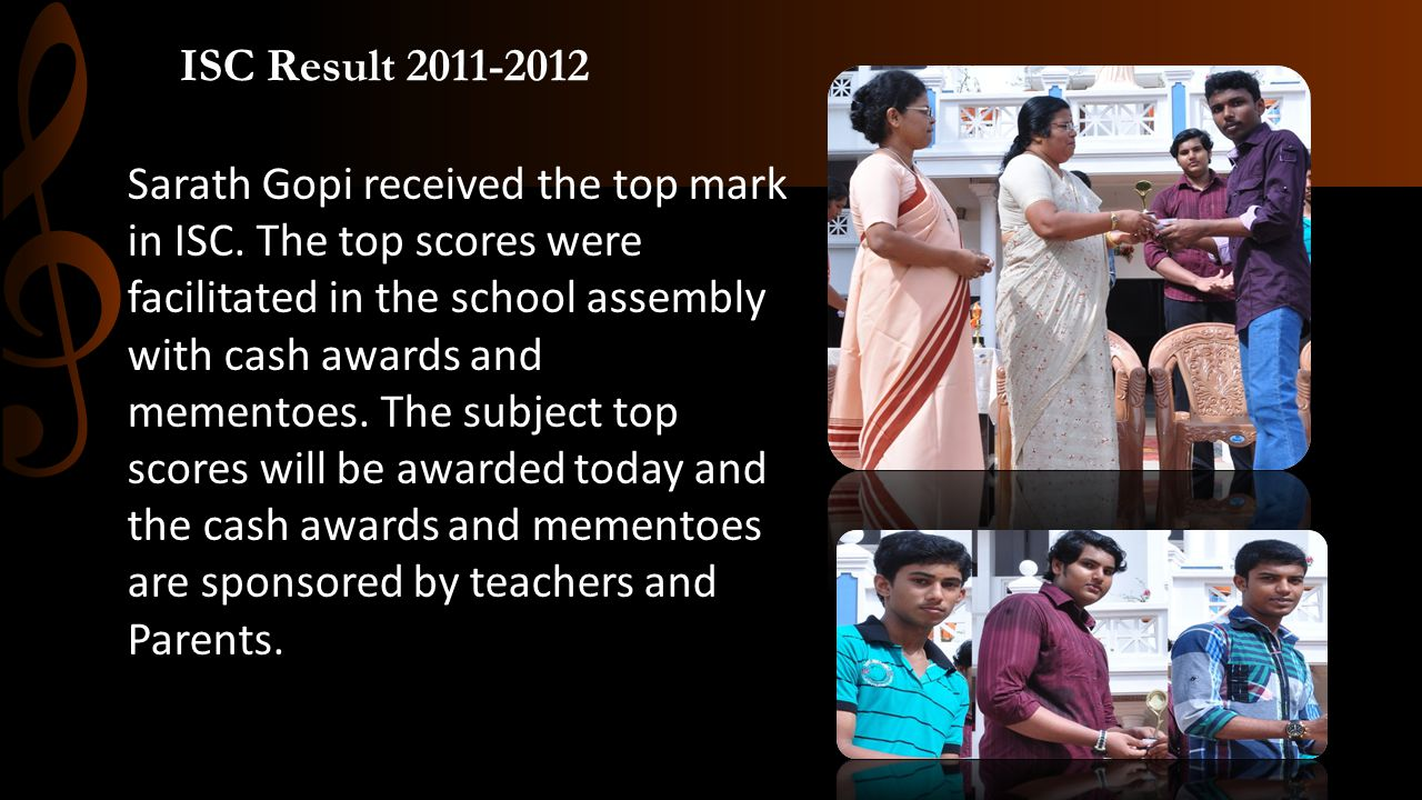 ISC Result 2011-2012