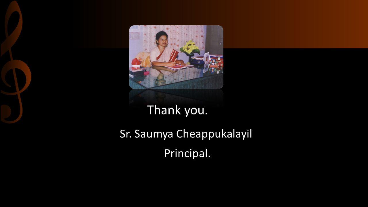 Sr. Saumya Cheappukalayil