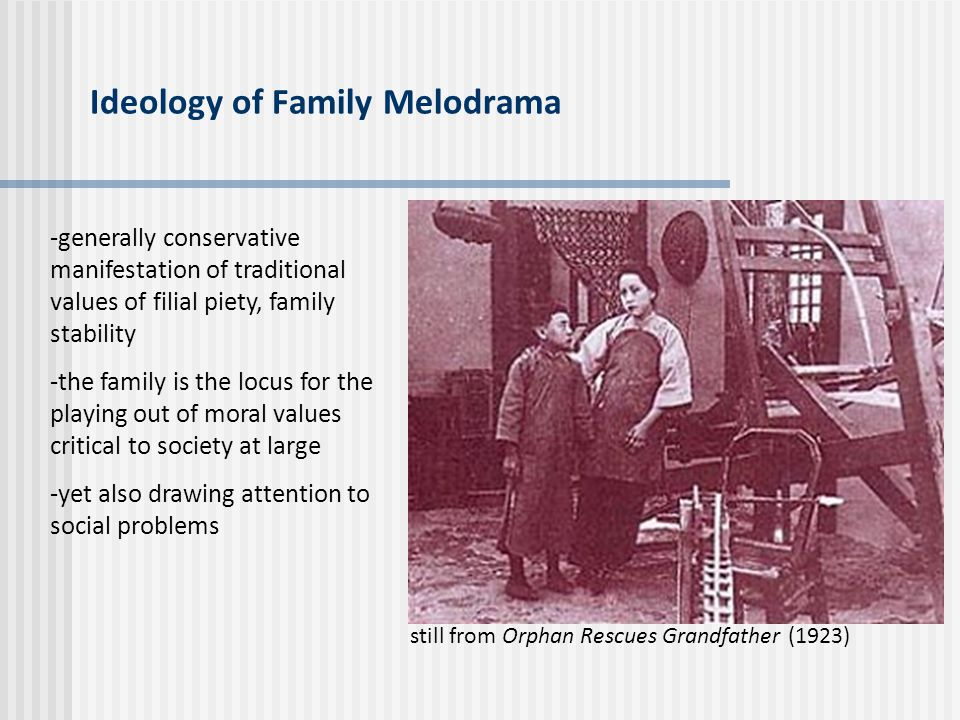 Ideology of Family Melodrama