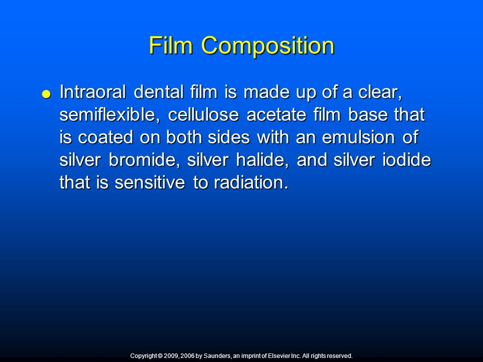Film Composition