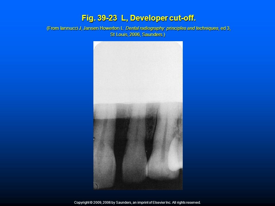 Fig. 39-23 L, Developer cut-off