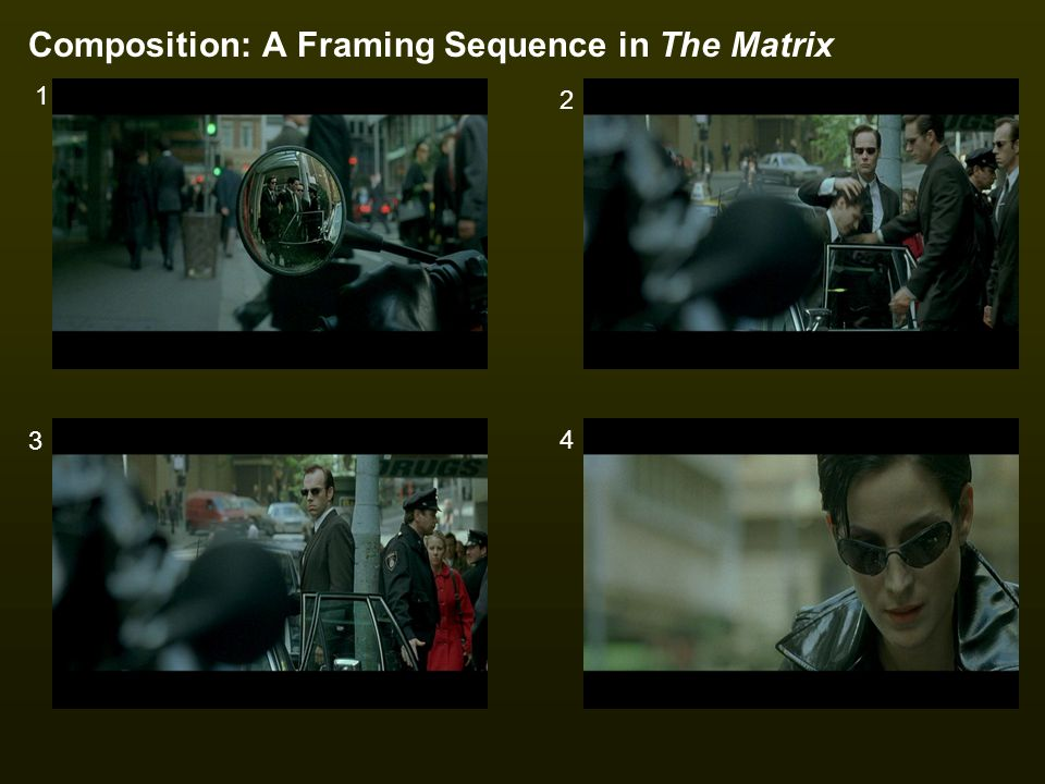Composition: A Framing Sequence in The Matrix
