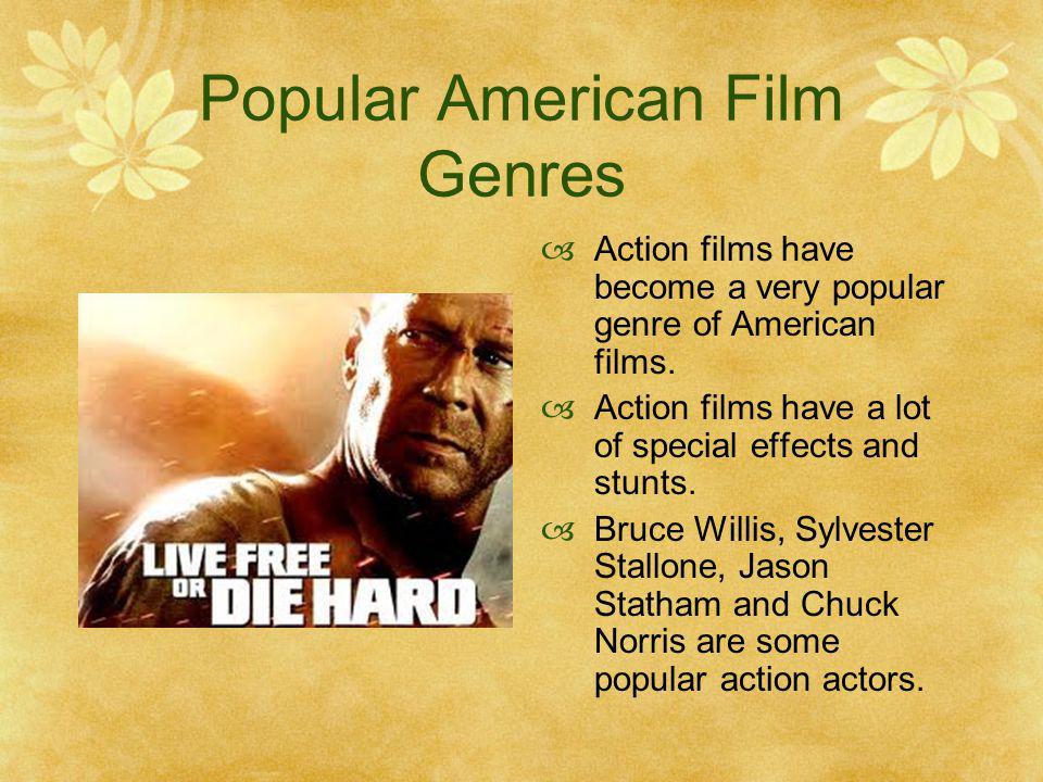 Popular American Film Genres
